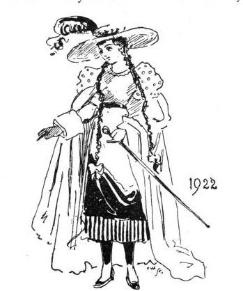 Fashion women 1922
