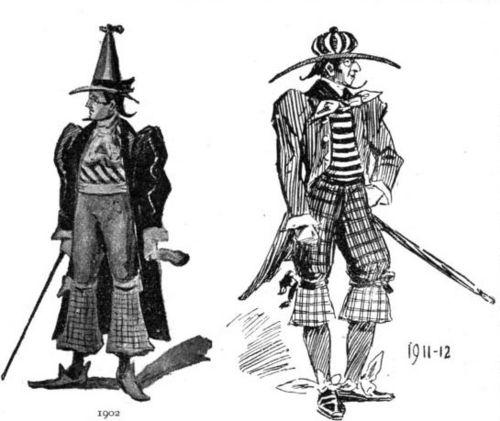 Fashion men 1911