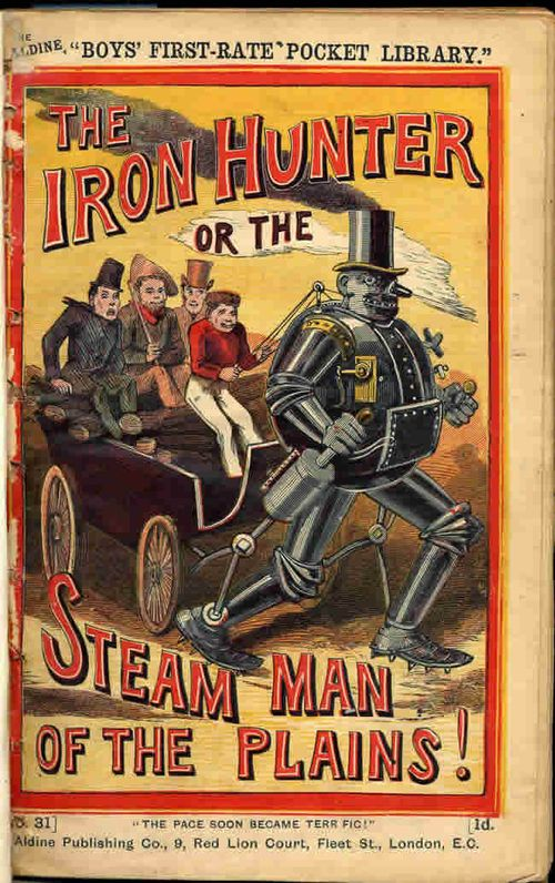 Mechanical man Johnny