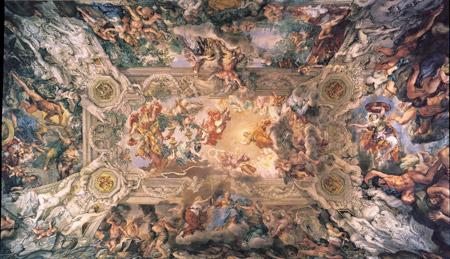 Cortona ceiling
