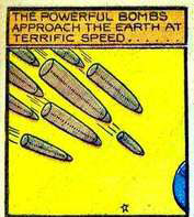 Stardust bombs det
