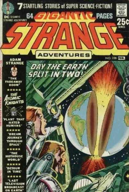 Earth split in two!