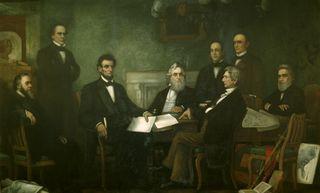 Lincoln emancipation proc