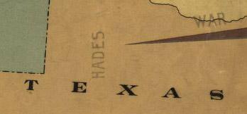 Slave map 1888 texas