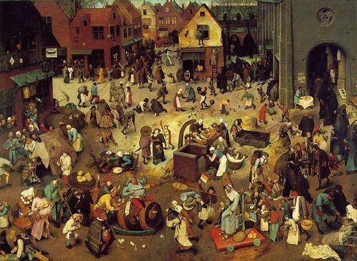 Burgel carnival and lent