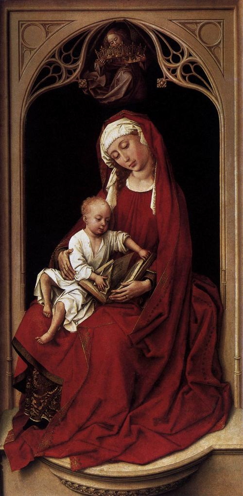 Van der Weyden  virgin child
