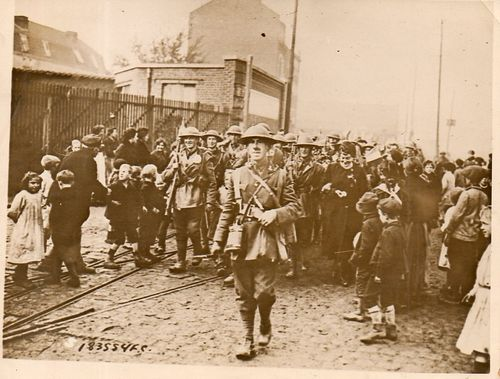 WWI  Brit Soldier reception001