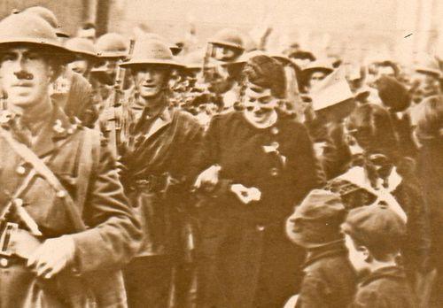 WWI  Brit Soldier reception002