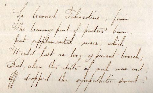 Medical manuscript detail