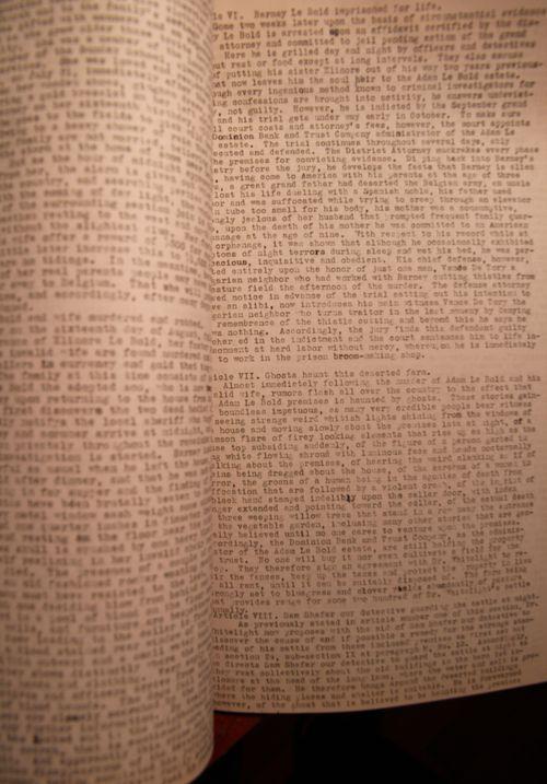 Manuscript insane two
