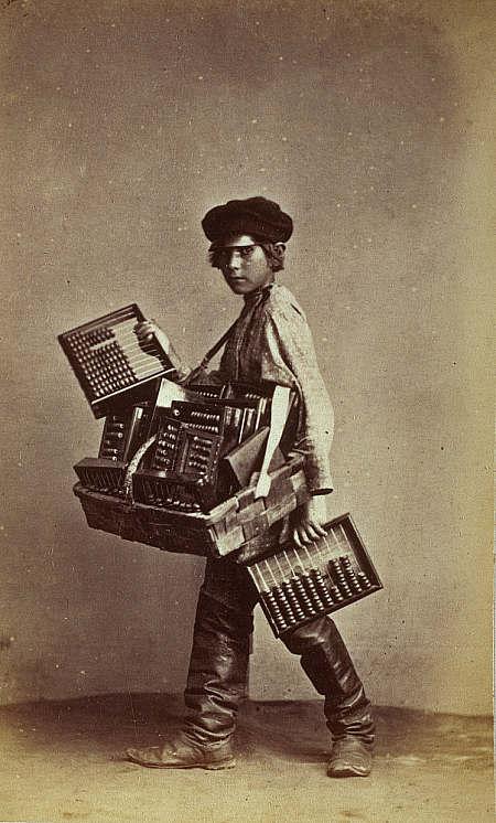 Carrick abacus seller