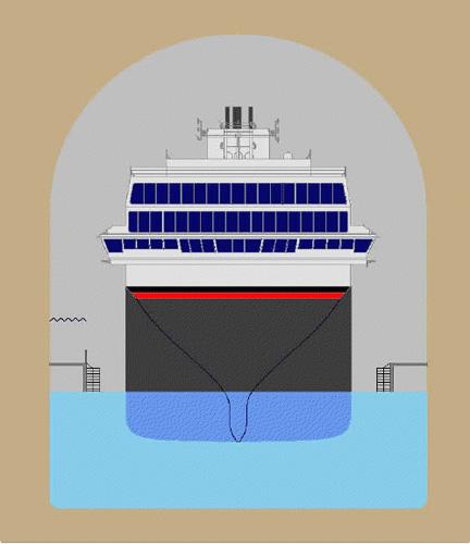 Ship tunnel