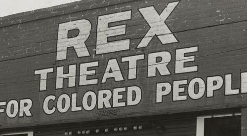 Lange colored theatre rex