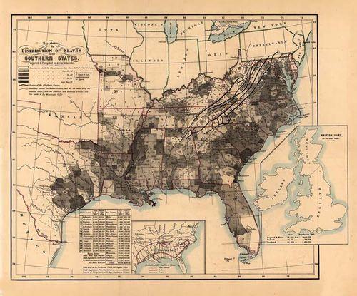 Map slave 1861 Steinwehr