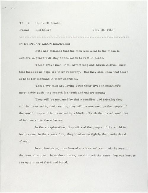 Nixon speech 1