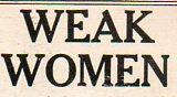 Weak women061
