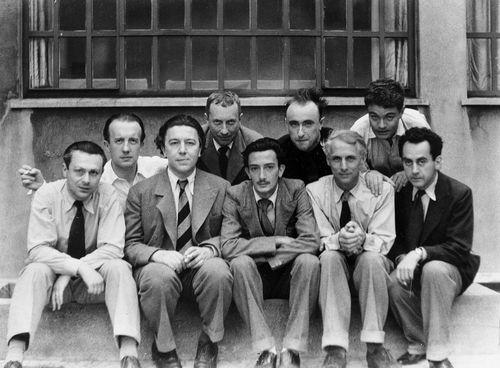 Surrealist portrait Paris 1933