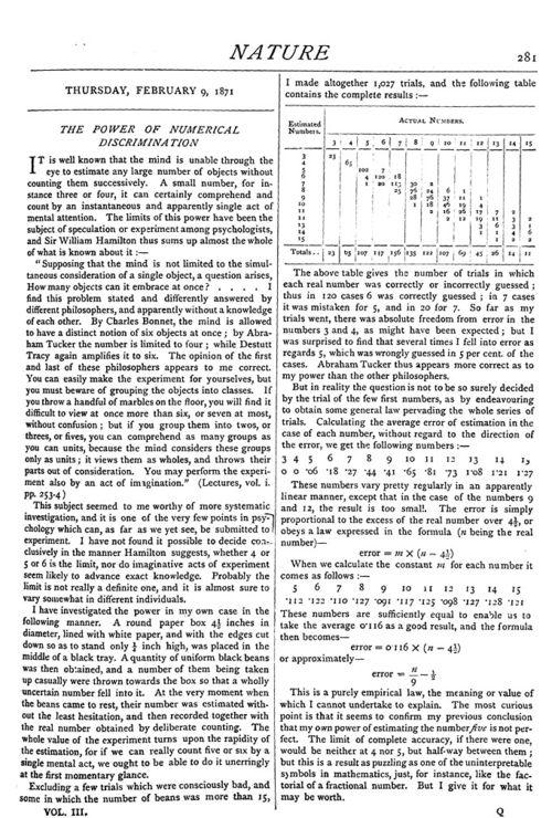 Jevons numerical 1