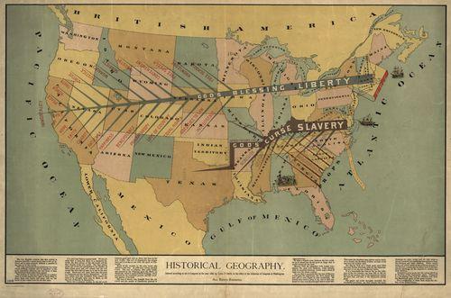 Slave map 1888