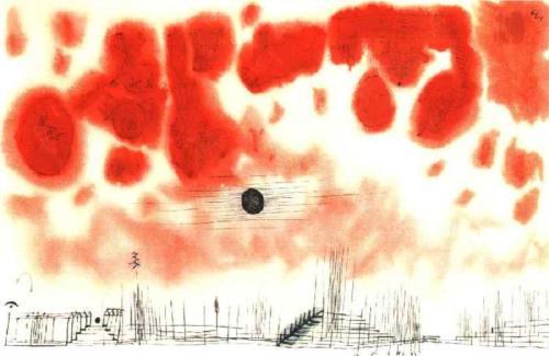 Clouds Paul Klee 1940