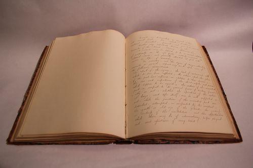 Medical manuscript open