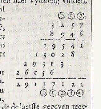 Stevin decimal