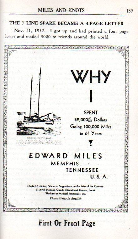 Outsider Edward Miles259