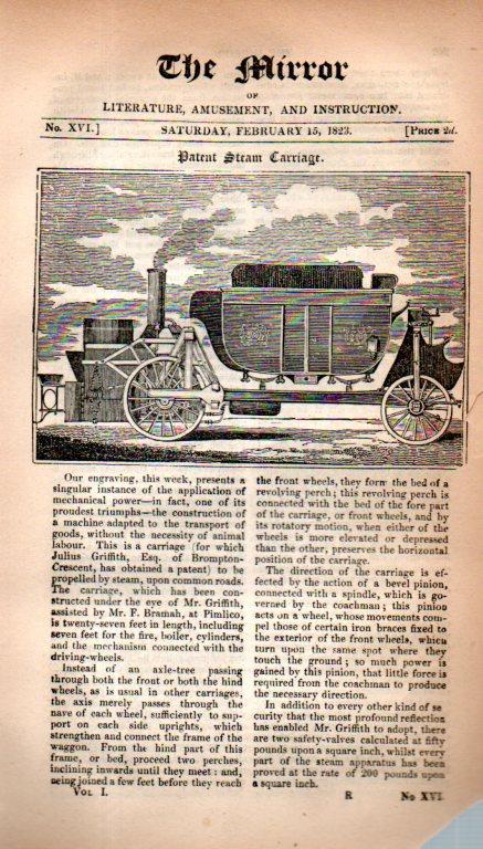 Steam engine Griffith262