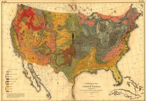 Statistical Atlas 1870 geo map
