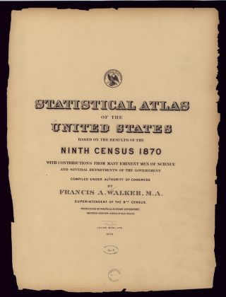 Statistical Atlas 1870