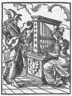 Amman organist