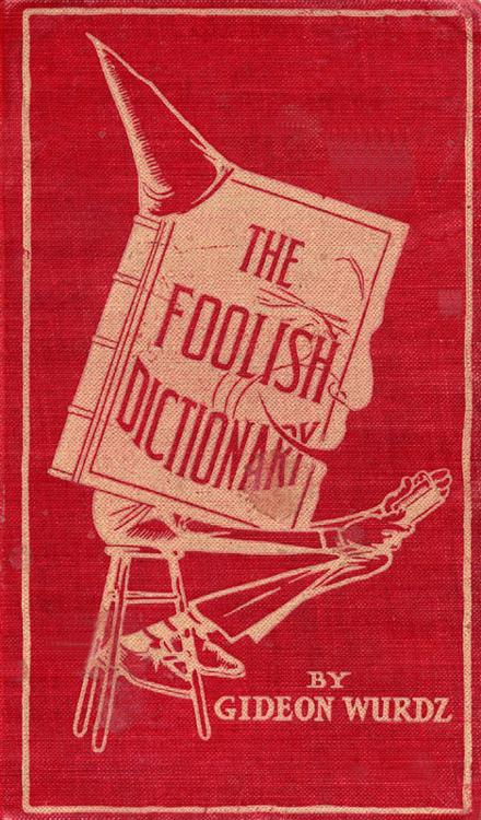 Dictionary foolish