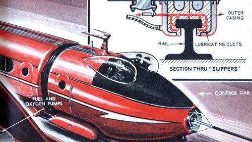 Tunnel NY LA 1948
