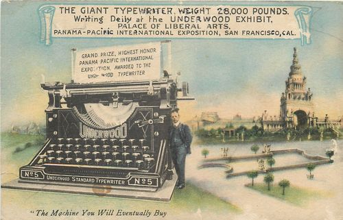 Typewriter giant