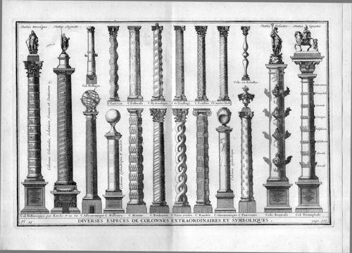 Architecture--vignole--columns429