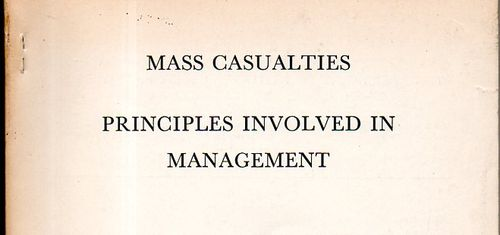 Mass casualty561