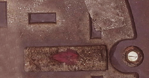 Mondrian sewer cleaned detail