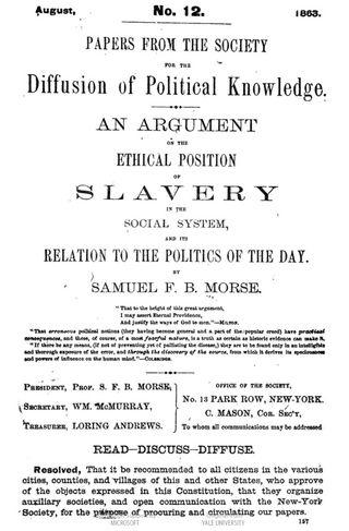 Morse slavery