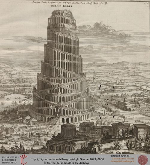 Kircher babel perspective