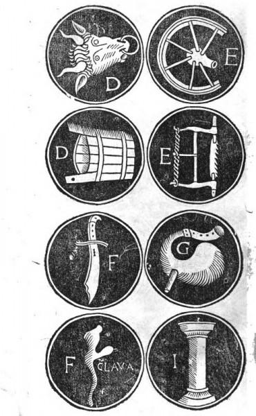 Memoria alphabet D-I
