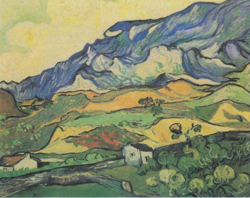 Van_Gogh_-_'Les_Alpilles',_Berglandschaft_bei_Saint-Rémy