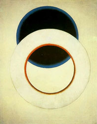 Dot--Rodchenko White Circle, 1918