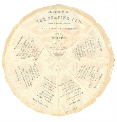 Civil War Pie--union lad text