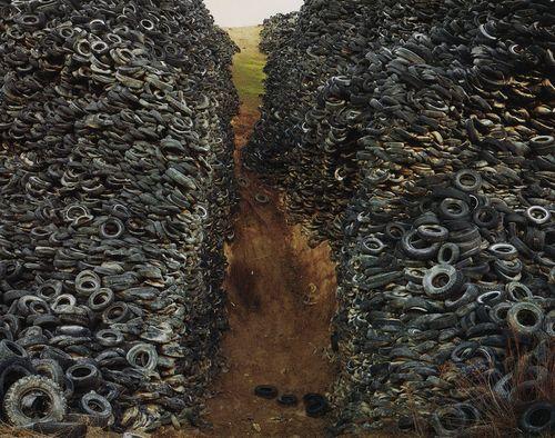 Piles--tires