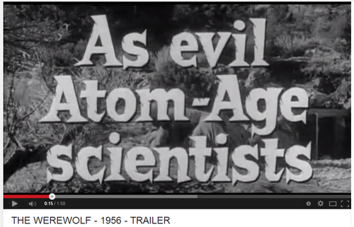 Evil as atom-age scientists