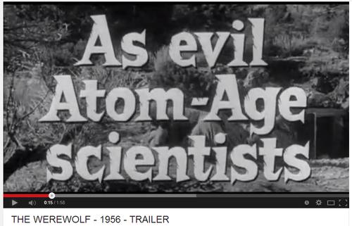 Evil as atom-age scientists