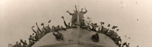 WWI Photo--ship launch128