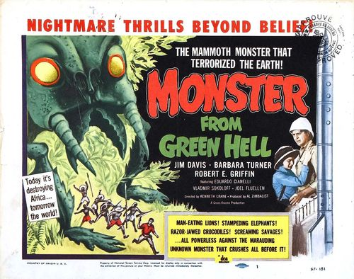 Atomic horror--monster green hell