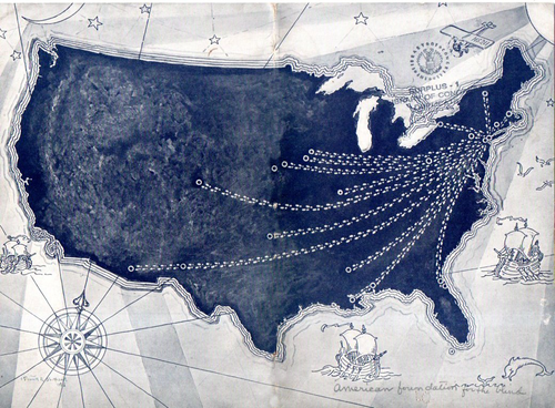 Maps of US GIMP