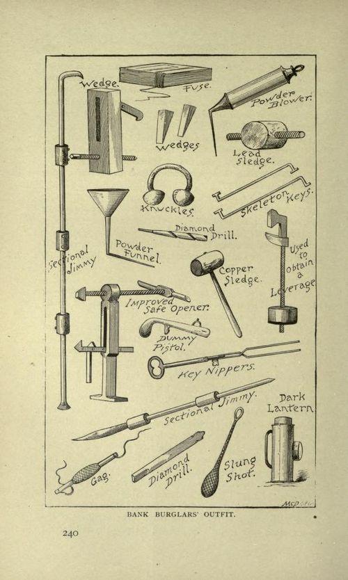 Burglar tools